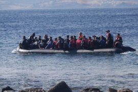 refugees in Lesbos