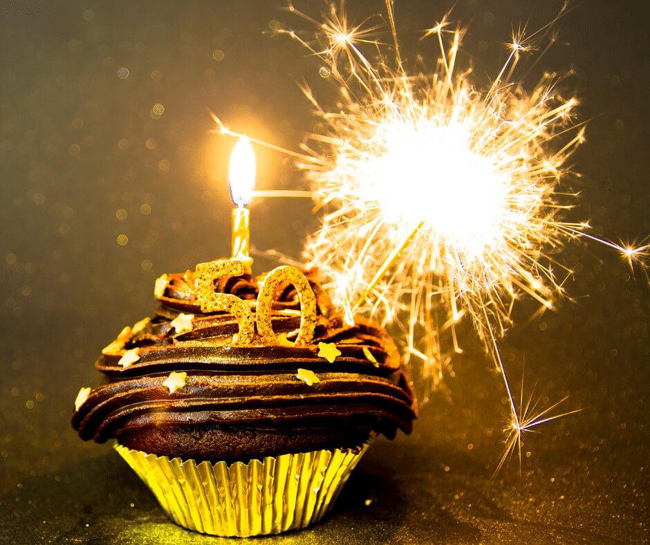 fiftieth birthdays