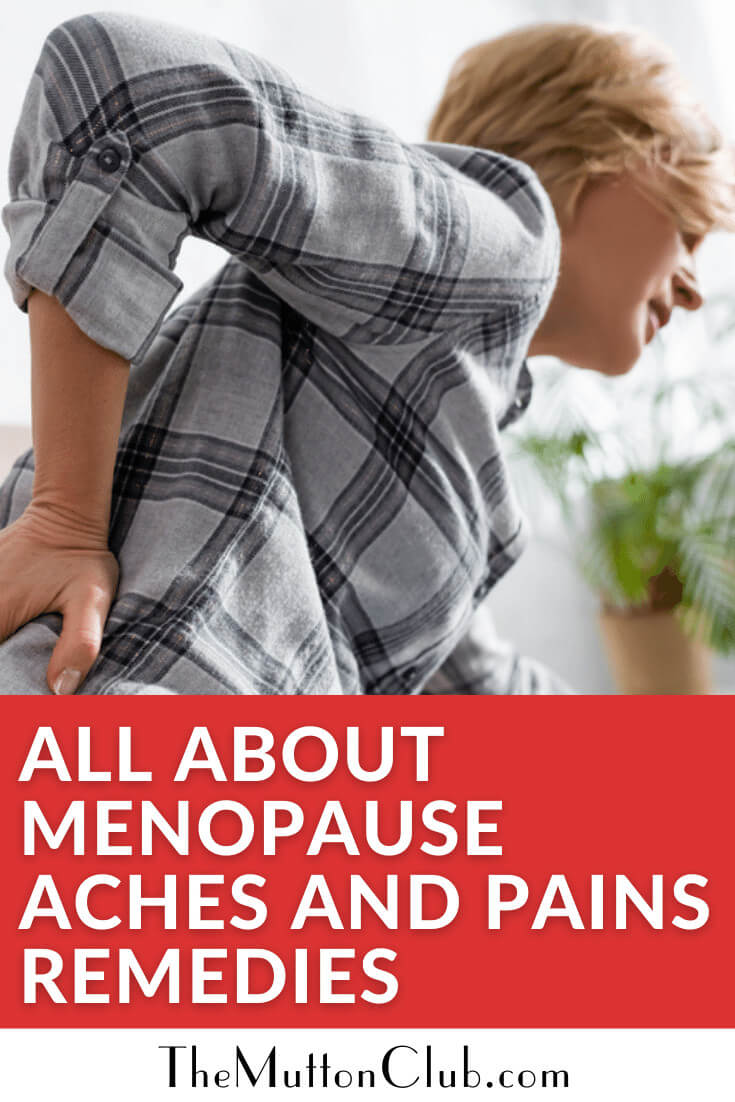 Menopause Aches and Pains