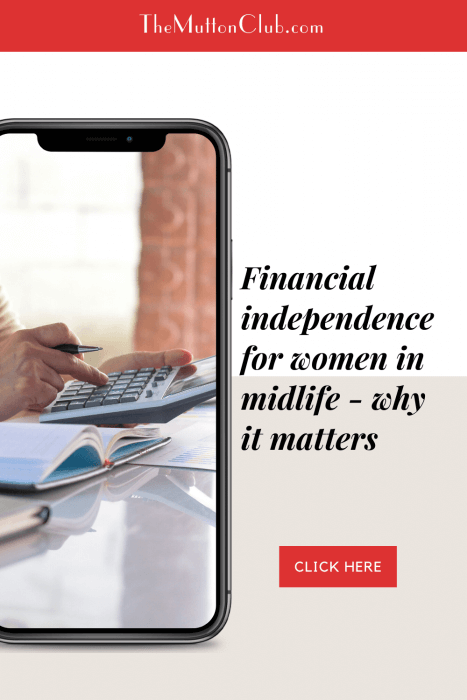 financial independence for women