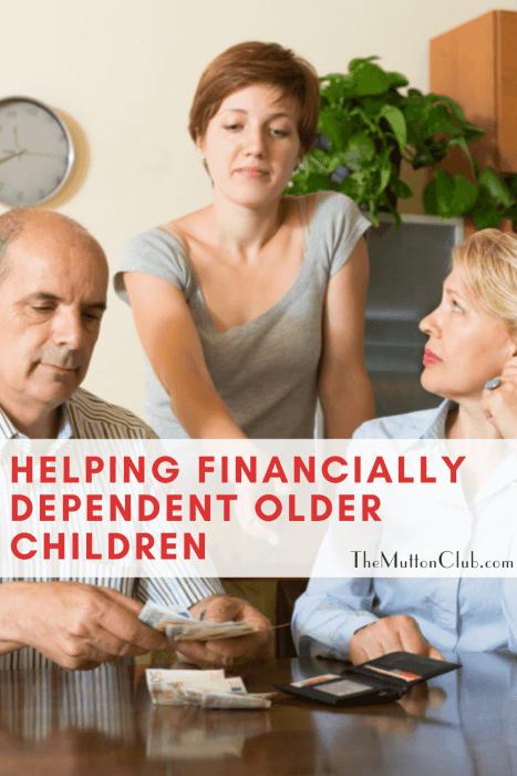 financially dependent