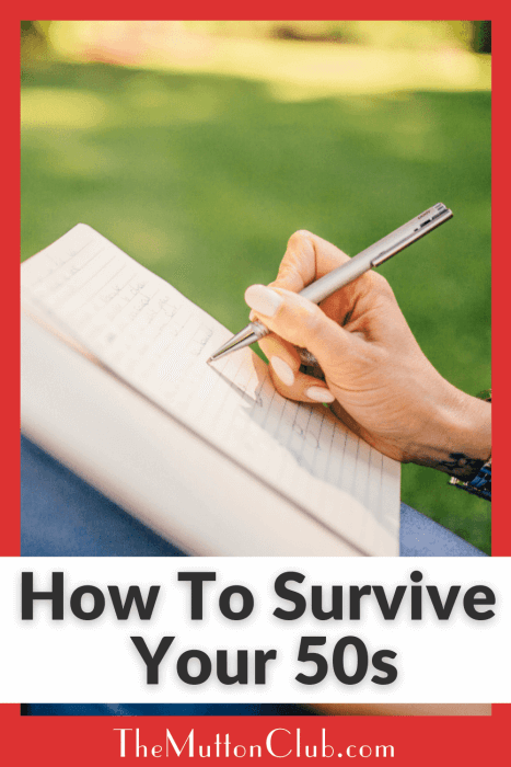 How To Survive Your 50s