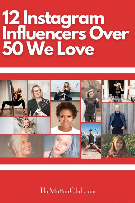 Instagram influencers over 50