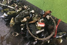 CANAL CLEAN-UP: ONE TIN CAN AND PLASTIC BOTTLE AT A TIME